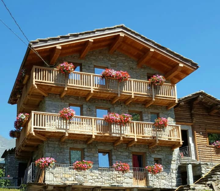 Chalet with one bedroom in Planaz, with wonderful mountain view, enclosed garden and WiFi - 13 km from the slopes