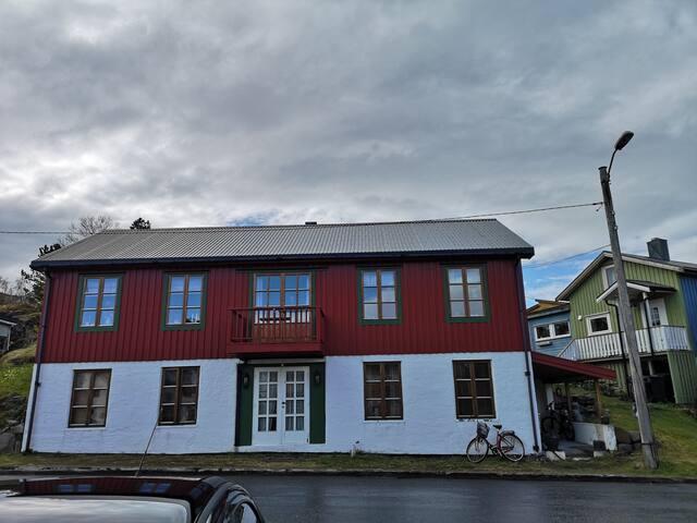 Koselig hus i KABELVÅG Lofoten til leie.