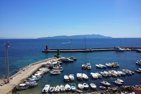Giglio Island with wonderfull view