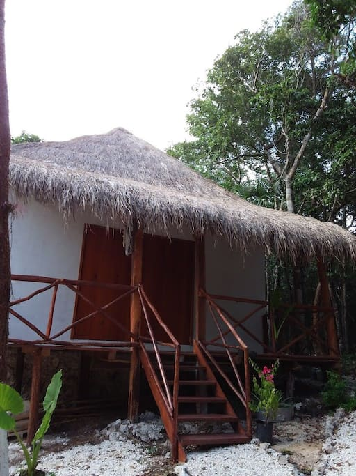 palapa tiny house Alas del tiempo