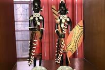 Maasai warriors on your guard