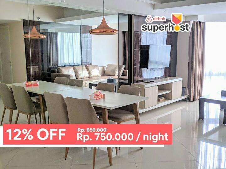 [12% OFF] Kond. Taman Anggrek! (Lift to Malls)