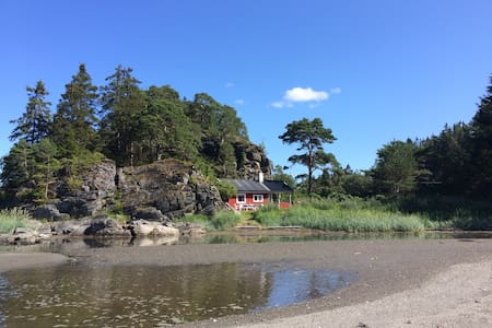 Fantastic little beach cottage - Stjørdal