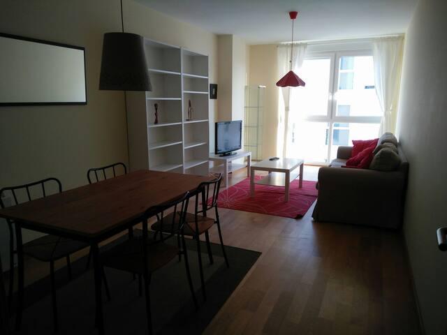 Apartamento nuevo y tranquilo 1 - Sada - Daire