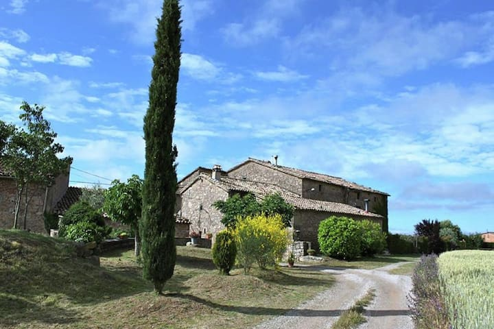 Catalonian country house near Montmajor.