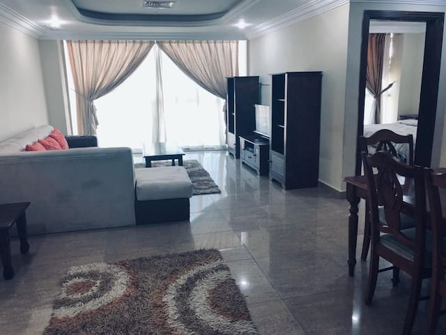 2 master bedroom fully furnished in salmiya