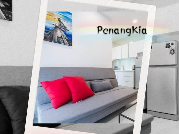 PenangKia | Town | Netflix | 100MbpsWIFI 城市 | 无限网络