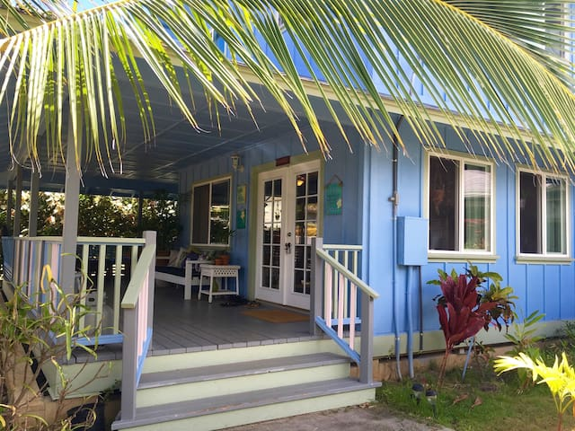 1 Bedroom Cozy Beach House with Magical Porch - Waimanalo - Casa
