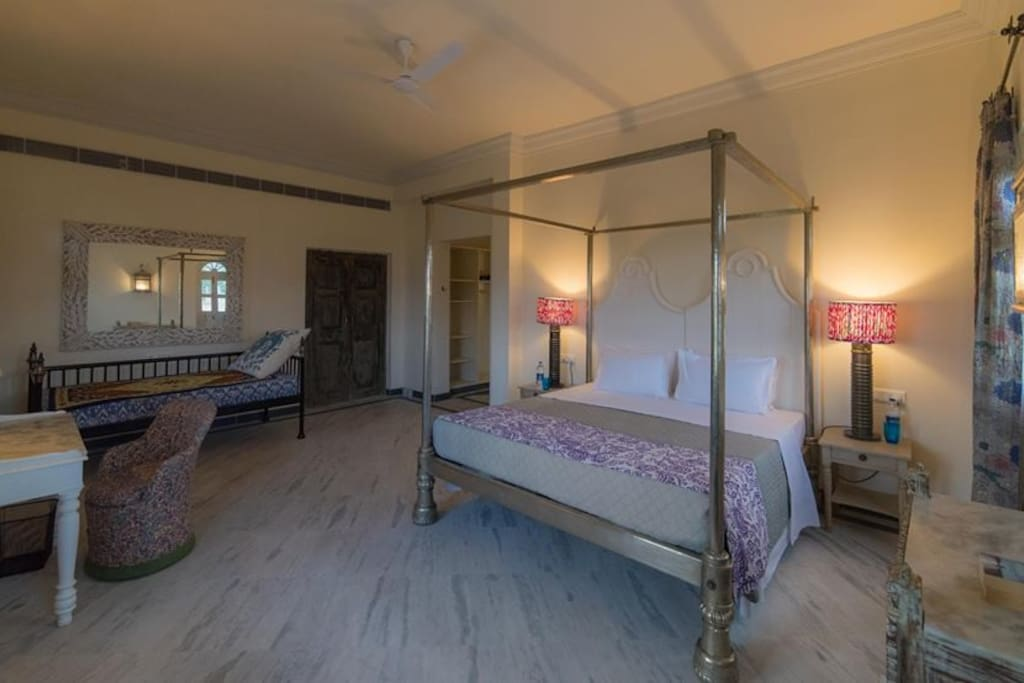 One of the suite rooms