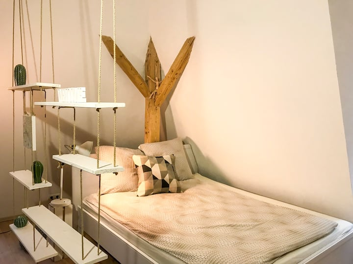 ★ City apartment with garden 10 min to city-center