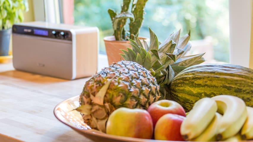 Radio in der Küche