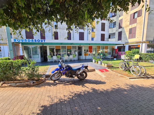 Place For Motorcyclists - Roundabout hostel