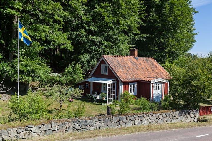 Cottage from the 1800s - Sölvesborg - Blockhütte