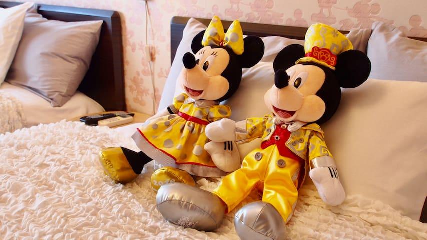Max12guests★Secret Rooms to Disney Resort