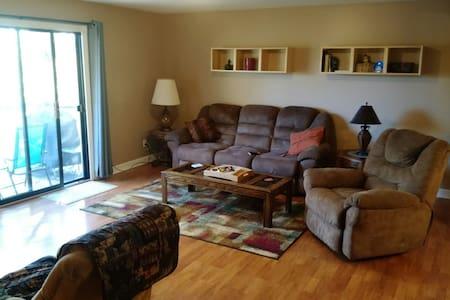 Quiet, spacious, top floor condo