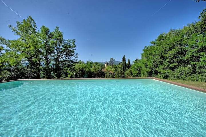 Casale Giotto - Country Villa Rental with private swimming pool in Vicchio, Tuscany