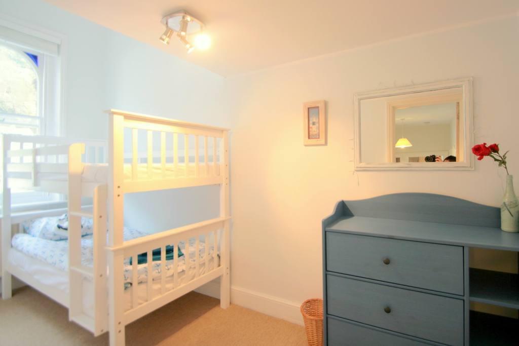 Bunk beds in bedroom two