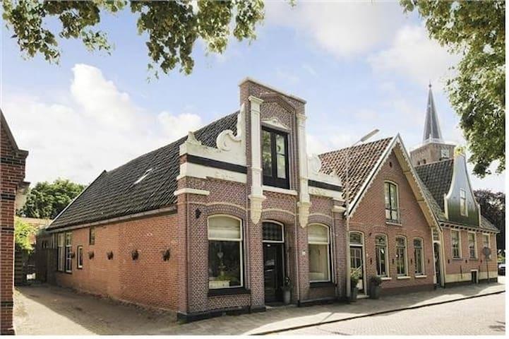 Historisch pand uit 1877 met 4 slaapkamers - Nieuwe Niedorp - Ház