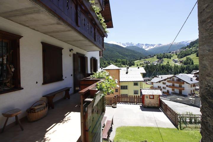 Baita de Anna, near Bormio-Livigno