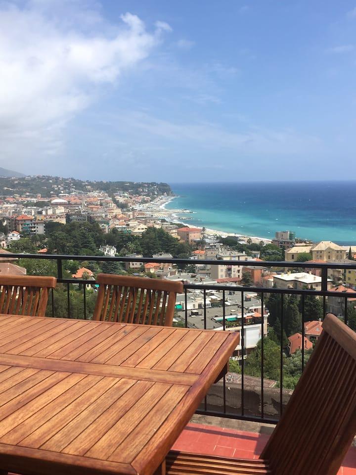Stupendo terrazzo vista mare!!!!!!!