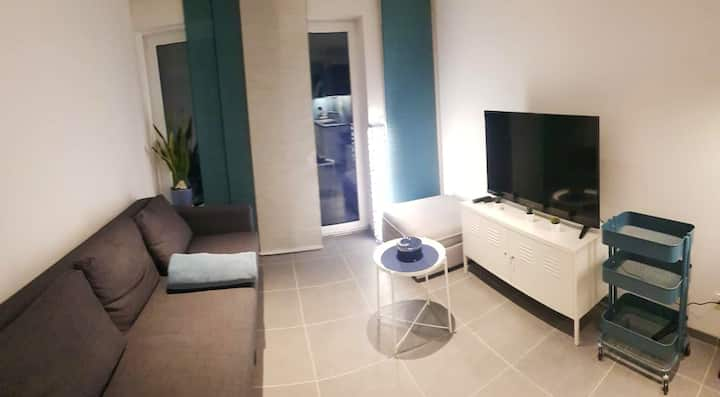 Apartment with one bedroom in Marche-en-Famenne, with furnished terrace and WiFi