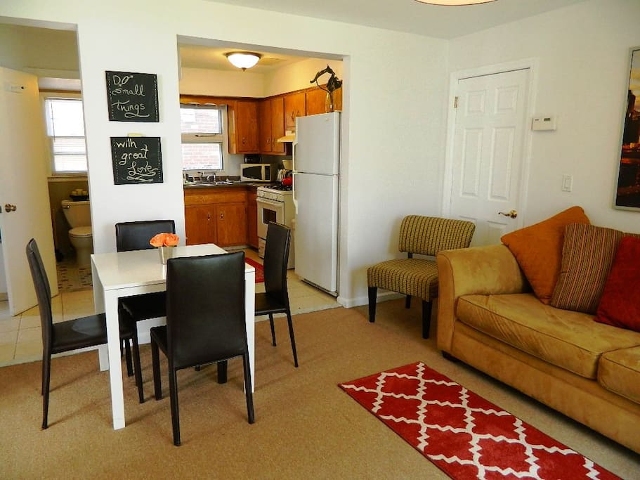 Tastefully decorated and spacious
