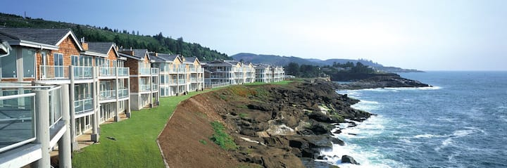 2BD Condo - Ocean Front Whale Watching Retreat!