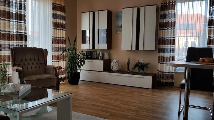 Komfortable Wohnung (ca. 52 qm) mit Terrasse