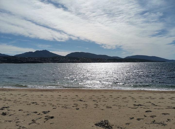 Mobil home tout équipé a 2min à pieds de la plage