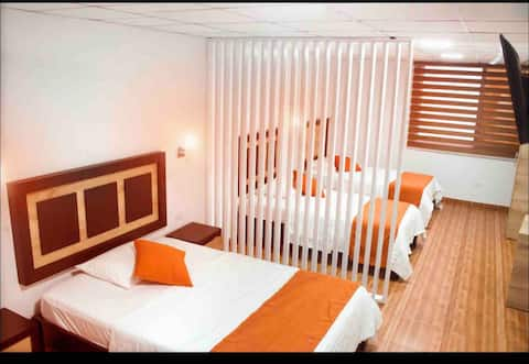 Moderna habitación en Edificio Torre Alba