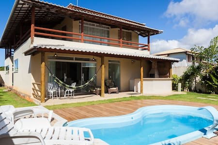 Casa de Praia - Beautiful Beach House - Itacimirim