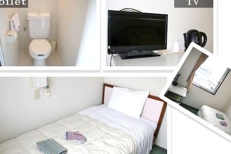 ホテル新今宮 エコノミシングルルーム - Nishinari-ku, Ōsaka-shi