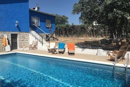 Habitación con piscina a 30m madrid - Colmenar del Arroyo - Huis