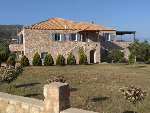Stone villa near the beach