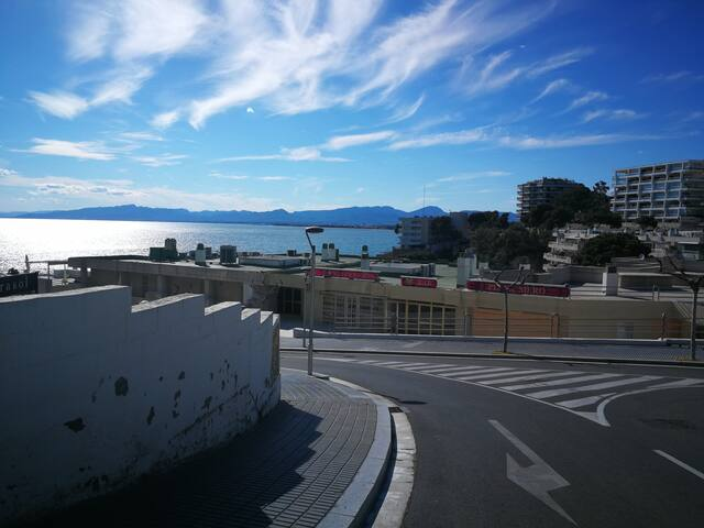 Segunda línea de la playa