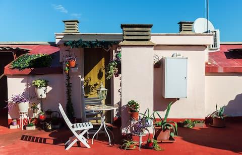 Rooftop Casina - studio appartement