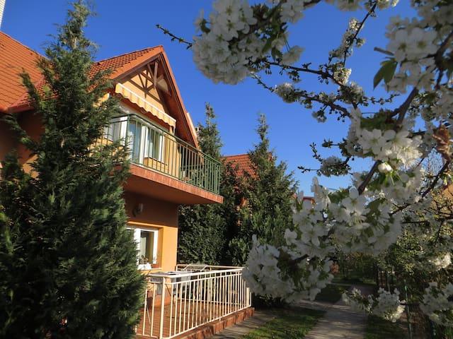 A nyugalom szigete- Casa Ciliegia - Balatonfüred - Daire