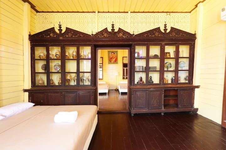 BaanKhon 3bed rooms Aircon Khoasan n Grand Palace