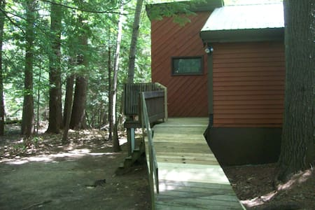 Rustic little studio in the pines of NH!