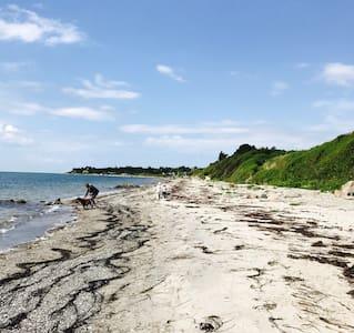 Dejligt sommerhus kun 50m fra børnevenlig strand