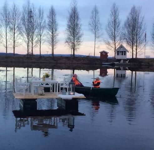 Badehuset på Balkesjøen