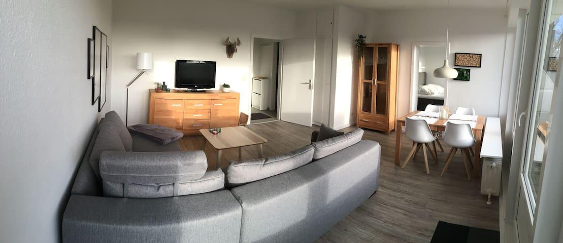 Schöne Wohnung mit Balkon im Zentrum von Flensburg