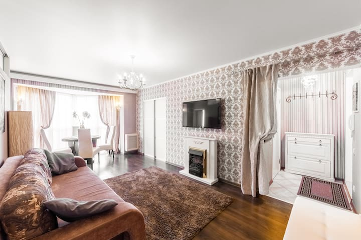 New apartment in the hart of Minsk