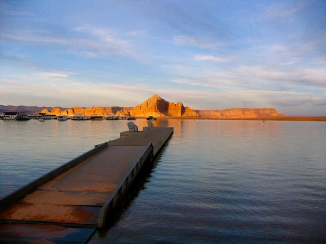 Wahweap Marina at Lake Powell is located just minutes away.
