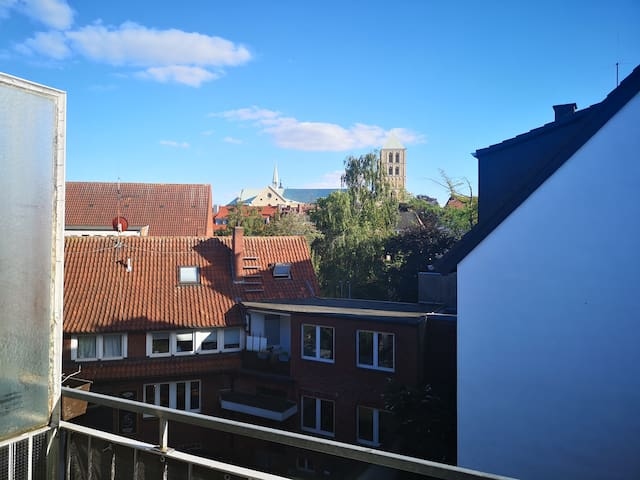 Beautiful flat with a view in the heart of Münster