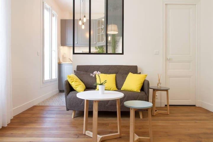 Appartement cosy MONTMARTRE 5**** FAMILLES & PRO