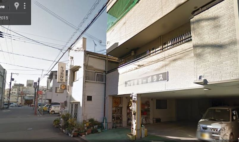 5 minute walk from station 8 minutes to Himeji-jo! - Himeji-shi - Apartemen
