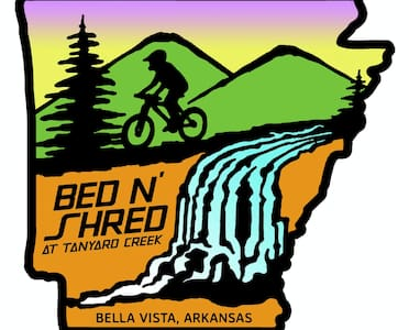 Instant trail / Waterfall access Bed N' Shred