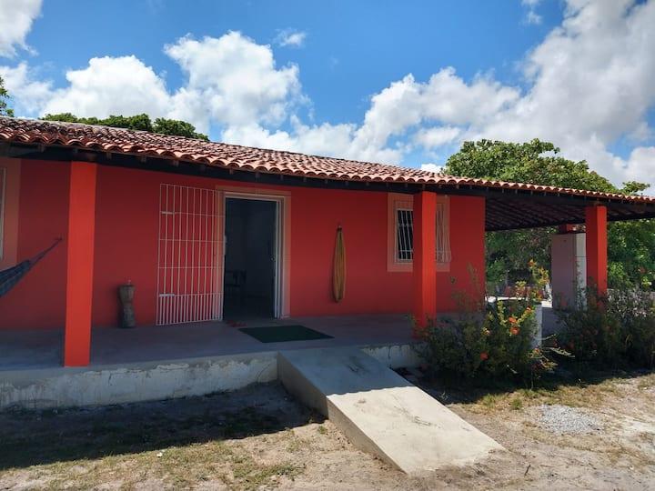 Casa Rosada de Atapuz - Praia