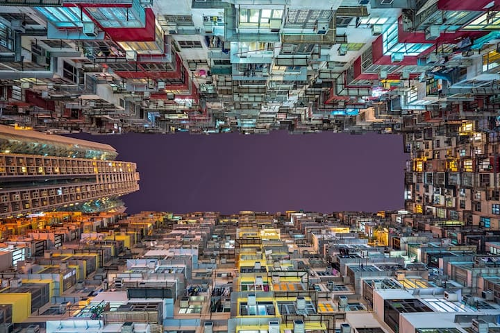 You will live in the most popular photography site in Hong Kong - Monster Building in Transformer 香港網紅打卡拍照地 ——變形金剛4怪獸大廈 (pic from internet)